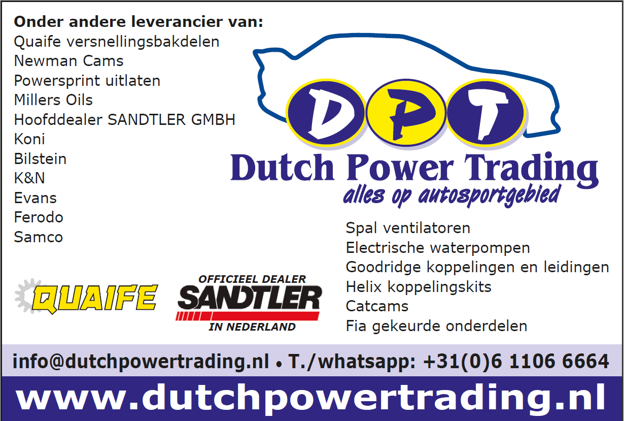 New sponsordeal Dutch Power Trading